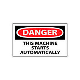 Automatic Equipment Signs