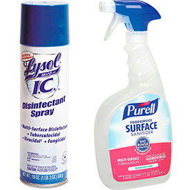 Sanitizer & Disinfectant Sprays