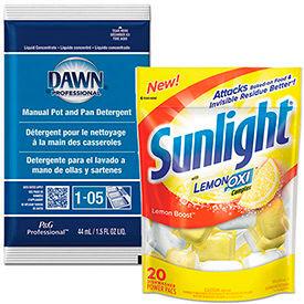 Kitchen Cleaner & Detergent Portion Packs