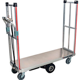 Magliner® Motorized U-Boat Narrow Aisle High End Platform Truck
