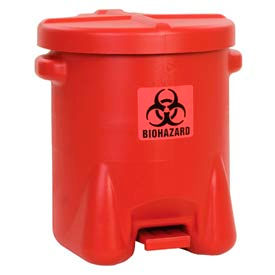 Eagle Biohazardous Polyethylene Waste Cans