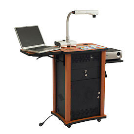 Mobile Audio Visual Presentation Lecterns and Podiums