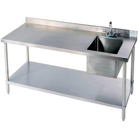 Stainless Steel Workbenches-With 4