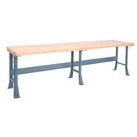 Global Industrial™ Extra Long Fixed Height Assembly Workbenches