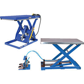 Air-Powered Scissor Lift Tables