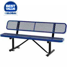 Pleasant Outdoor Benches At Global Industrial Ibusinesslaw Wood Chair Design Ideas Ibusinesslaworg
