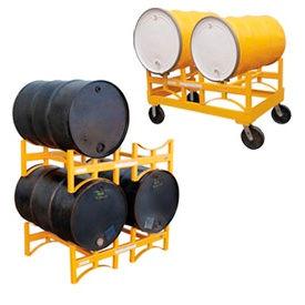 Vestil Stackable & Portable Drum Storage Racks