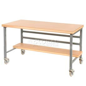 Fixed Height Mobile Workbenches