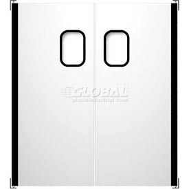 Stainless Steel Impact Traffic Doors