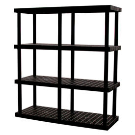 DuraShelf® Adjustable Structural Plastic Shelving