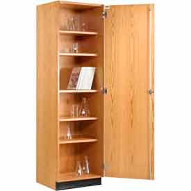 Exceptionnel Wood Tall Storage Cabinet Single Door