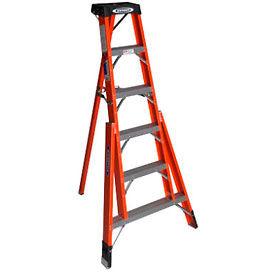 Werner® Fiberglass Tripod Step Ladders