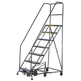 Easy Turn Steel Rolling Ladder