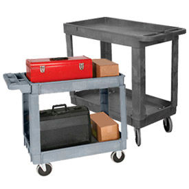 Wesco® Plastic Service & Utility Carts