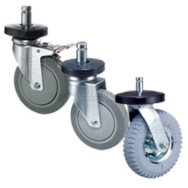 Replacement Caster Kits for Nexel® Wire Carts & Trucks
