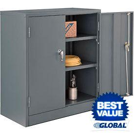 Global™ Counter Height Solid Door Cabinets