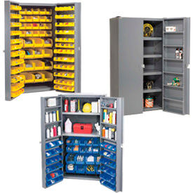 16 Gauge Assembled or Unassembled Bin Cabinets