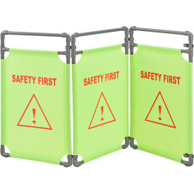 Global Industrial™ Safety First Folding Barricade