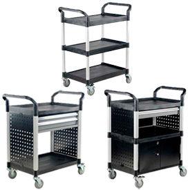 Vestil Plastic Service & Utility Carts