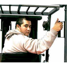 Ideal Warehouse Forklift Ergo Back-Up Handles