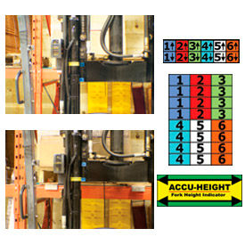 Ideal Warehouse Accu-Height Fork Height Level Indicator
