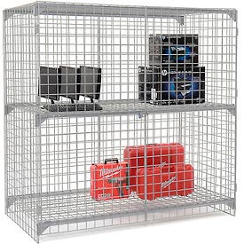 Global Industrial™ Wide Span Security Cages