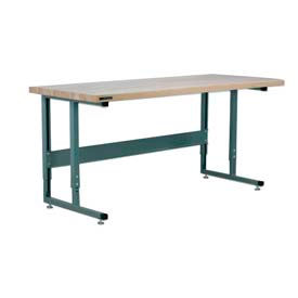 Stackbin Cantilever Leg Adjustable Height Workbenches