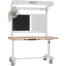 Built Systems Ergonomic Modular Assembly Tables