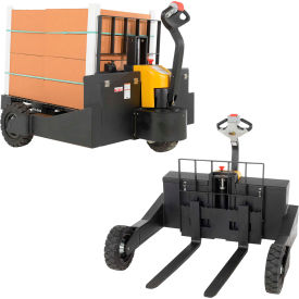 Electric Powered Rough Terrain Pallet Jack Trucks