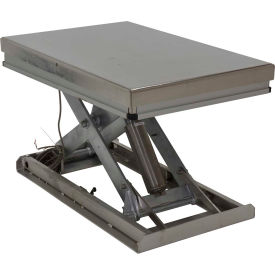 Stainless Steel Electric Hydraulic Scissor Lift Table
