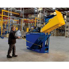 DC Powered Forklift Trash Can Dumpers