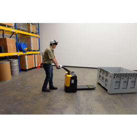 Self-Propelled Electric Pallet Jack Truck with Single Fork
