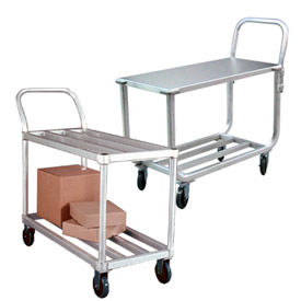 Light Duty Tubular Aluminum Stock Carts