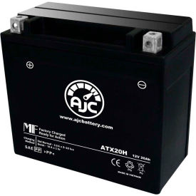 AJC® Brand Replacement Motorcycle Batteries for Indian