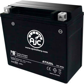 AJC® Panzar Brand Replacement Motorcycle Batteries