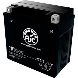AJC® Brand Replacement Scooter Batteries for Piaggio