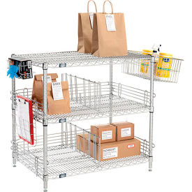 Nexel® Chrome To Go Rack