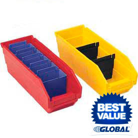 Premium Plastic Shelf Bins