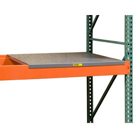 Pallet Rack - Solid & Perforated Steel Decking