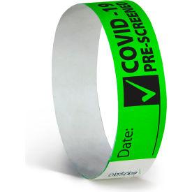COVID-19 Pre-Screened Wristbands