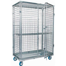 Adjustable Wire Shelf Security Trucks