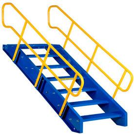 Vestil - Modular Steel Staircase with Railing - 36