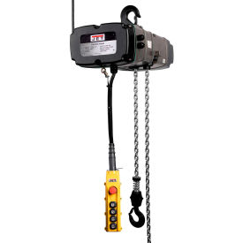 JET® Electric Chain Hoist With Trolley & 4 Button Pendulum