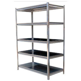 Vestil - Boltless Stainless Steel Shelving, 6' High