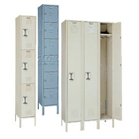Lyon Assembled Steel Locker With Recessed Handle