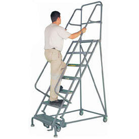 Heavy Duty Steel Rolling Ladder