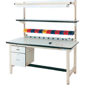 Pro-Line Square Tubular Leg Fixed Height Workbenches