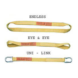 Lift-All® Polyester Web Slings