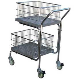 Portable Mail Cart