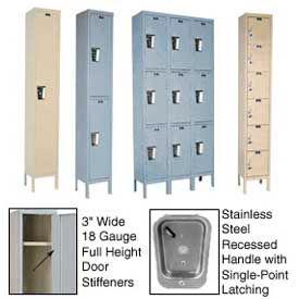 Hallowell Secure Quiet Steel Lockers - Assembled